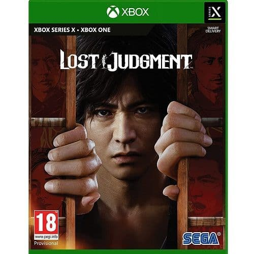 Lost Judgment Xbox Series X Game